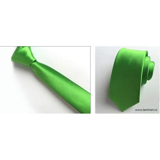 Moška kravata zelena K100