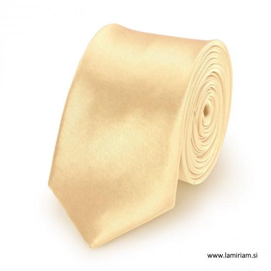 Moška kravata šampanjec KR100