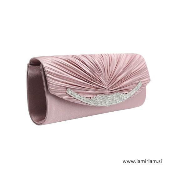 Ženska večerna torbica rose kristal T100 Torbice